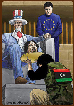 Gaddafi Served up to Imperialism by traitors