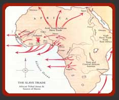 Slaving Routes out of Africa