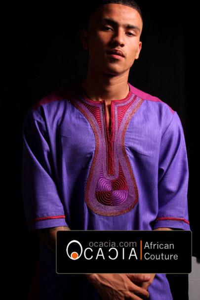 Tabaski, West African embroidery complex technique. www.ocacia.com