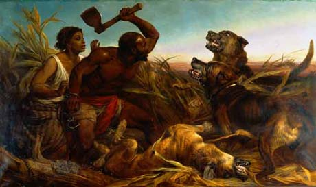The hunted Slave