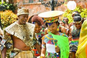 Traditional Zulu Wedding