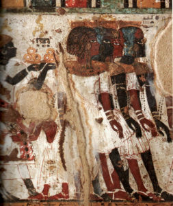 Nubia Wall Paintings