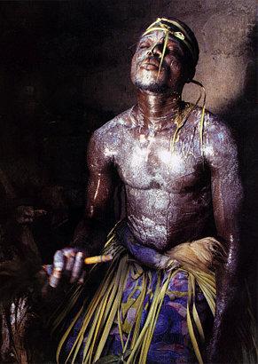 Voodoo ceremony in Africa