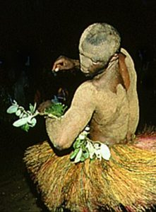 Voodoo ceremony in Africa