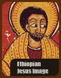 Ethiopian authentic image of Jesus in African religion