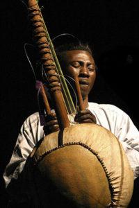 African Kora Player