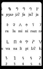 Bamum-Script of Africa