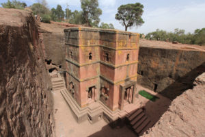 Lalibela Stone church in Ethiopia