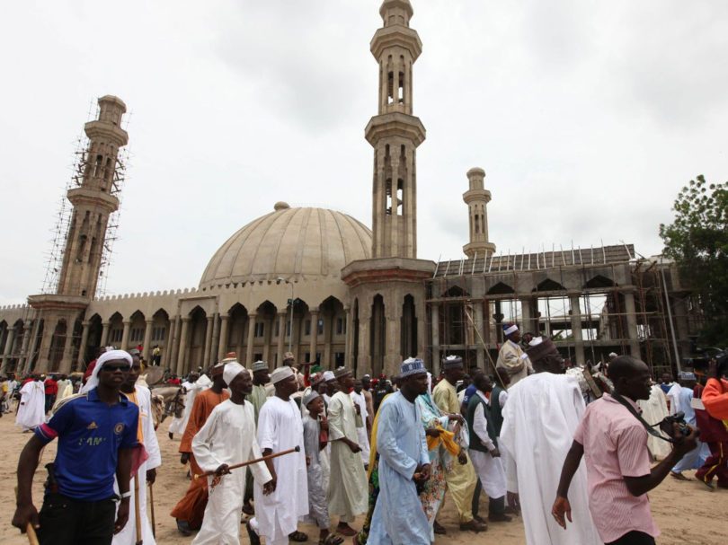 Nigeria at Jummah Pray