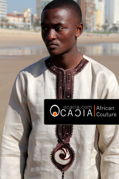 Sankofa African clothes embroidery and Adinkra Symbol. www.ocacia.com