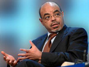 Zenawi Late PM of Ethiopia