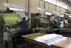 Fabric Production in Ghana