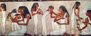 Linen was first used in Ancient Egypt