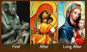 Evolution of Jesus to a White man
