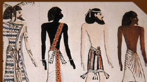 Egyptian depiction of different Ethnic groups