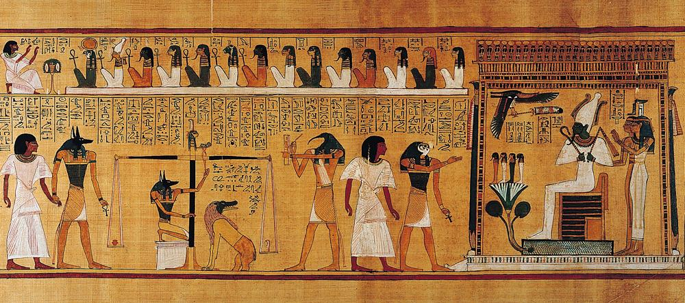 Most core teanants of Islam, Christianity and Judaism come from Ancient Egypt