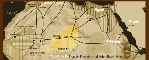 Ancient African Trade Routes