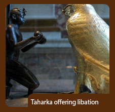 Taharka-offering-libation