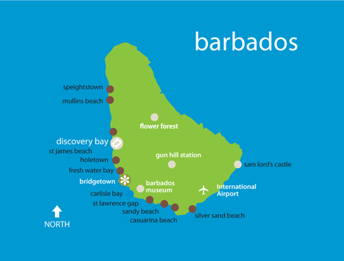 barbados map african holocaust society