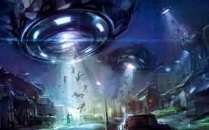 Aliens taking Whites Away